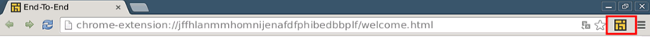Address bar and End-To-End button