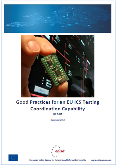Good practice framework for an EU ICS testing coordination capability