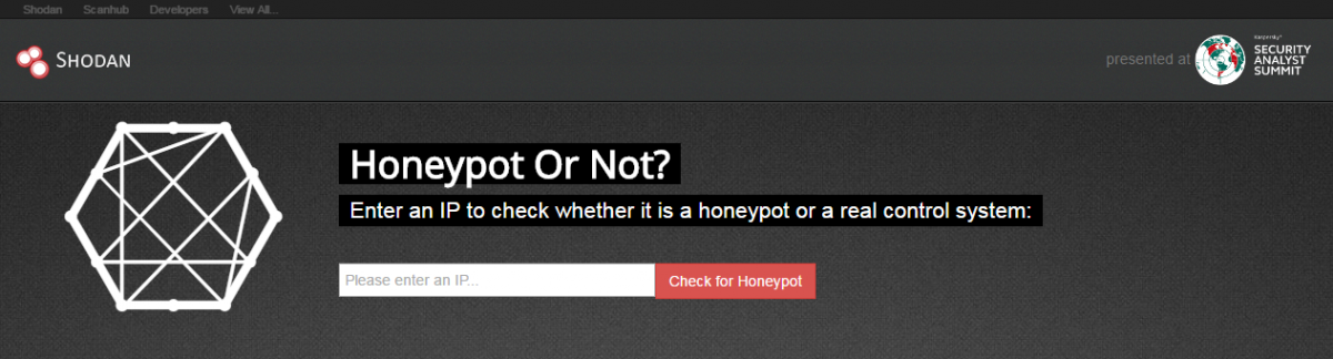 Honeypot or Not? SHODAN