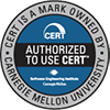 Logo Authored to use CERT