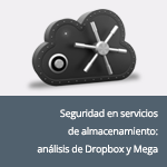 Security in cloud storage services: Analysis of Dropbox and Mega