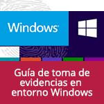 Guía de toma de evidencias en entornos Windows